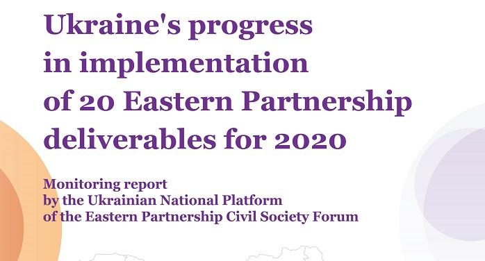Monitoring Report of UNP EaP CSF, 2020